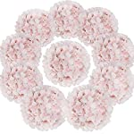 Flojery-Silk-Hydrangea-Heads-Artificial-Flowers-Heads-with-Stems-for-Home-Wedding-DecorPack-of-10-Baby-Pink