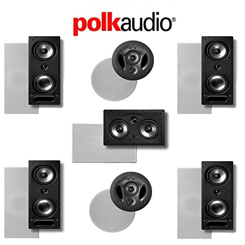 Polk Audio 265-RT 7.0 Vanishing Series In-Wall / In-Ceiling Home Theater System (265-RT + 900-LS + 255C-RT) by Polk Audio
