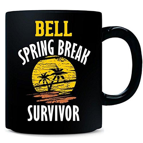 Bell Spring Break Survivor Party Beach Drinking - Mug - Survivor Bell