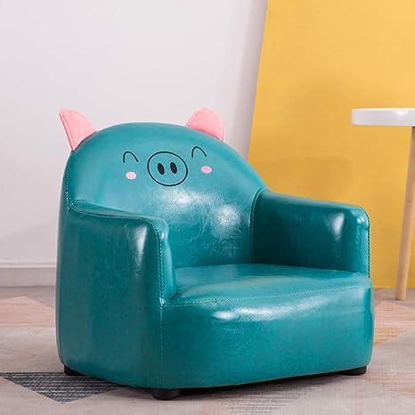 Asiento sofá de la silla del cabrito, Cerdo lindo animal ...