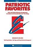 Patriotic Favorites for Strings, John Moss, 0634052810