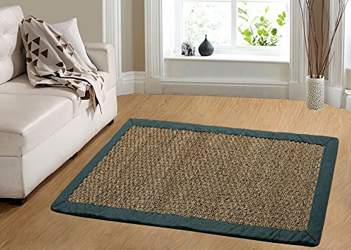 Chesapeake Merchandising Seagrass Comfortable Area Rug, 5' x 7', Tan ()