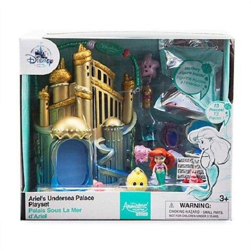 Disney Animators' Collection Littles Ariel Micro Doll Play - Collectible Dolls Disney