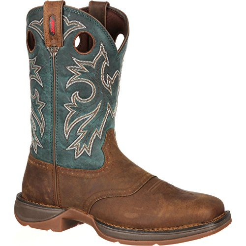 Durango Men's Rebel Blue Db016, Tan/Navy, 8 M US