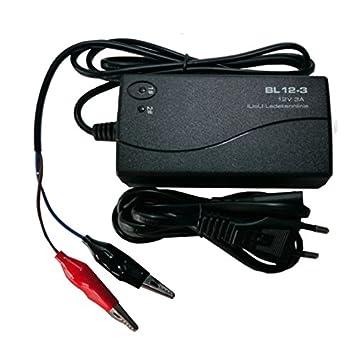 Cargador compatible batería AGM gel de plomo Calcio 12 V 12 ...
