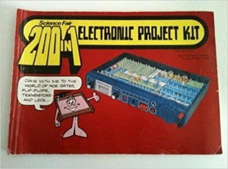 200 in 1 Science Fair Electronic Project Kit: Radio Shack / Tandy