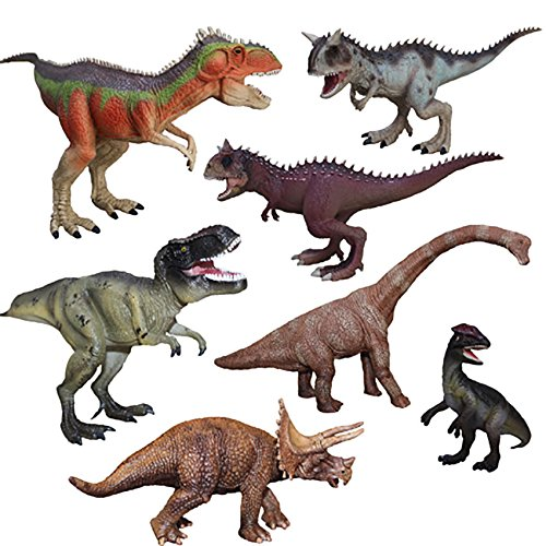Shalleen Fad Dinosaur Play Toy Animal Action Figures Novelty Fashion Collection Hot (Wwe Money In The Bank Ring Set)