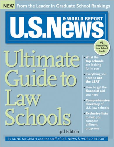 U.S. News Ultimate Guide to Law Schools (U.s. News & World Report Ultimate Guide)
