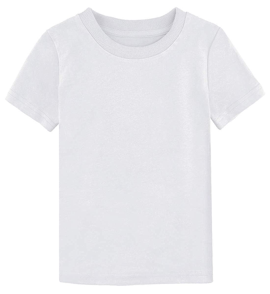 A&J DESIGN Toddler & Kids Heavyweight Cotton T-Shirt Variety of Colors