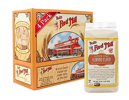 Bob's Red Mill Super-Fine Almond Flour, 16 Oz (4 Pack) ()