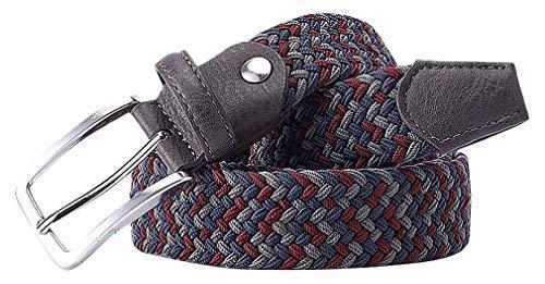 (Celino Men Multicolor Braided Stretchable 1.34