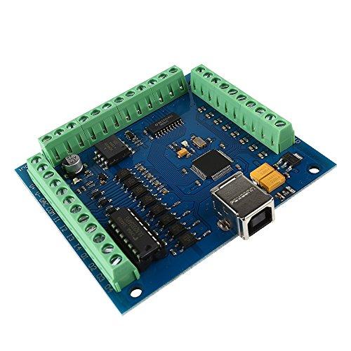 SainSmart CNC 4-Axis Kit with ST-4045 Motor Driver, USB Controller Card, Nema23 Stepper Motor and 24V Power Supply (CNC Kit 6) by SainSmart (Image #4)