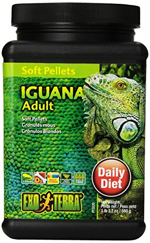 Exo Terra Soft Adult Iguana Food, 19.7-Ounce by Exo Terra