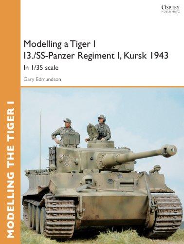 Modelling a Tiger I I3./SS-Panzer Regiment I, Kursk 1943: In 1/35 scale (Osprey Modelling Guides)