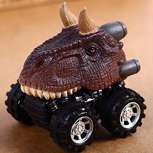 Foshin Mini Dinosaur Shape Car Model Toys Pull Back Vehicle Toy Gifts for Children Cars & Trucks