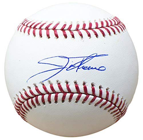 Jim Thome Cleveland Indians Autographed Signed Memorabilia MLB Baseball With Free Ball Cube - JSA Authentic ()