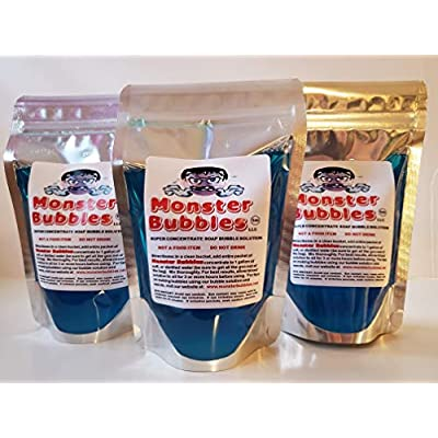Monster Bubbles 3-Pack of Bubble Solution Concentrate: Industrial & Scientific