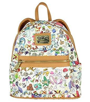 Loungefly Pokemon Multi Character AOP Mini Backpack  Amazon.co.uk  Clothing 58c7afe0f7948
