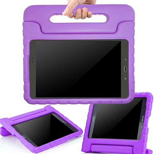 AVAWO-Samsung-Galaxy-Tab-A-80-2015-Kids-Case---AVAWO-Light-Weight-Shock-Proof-Convertible-Handle-Stand-Kids-Friendly-for-Samsung-Tab-A-8-Inch-SM-T350-Tablet-Purple