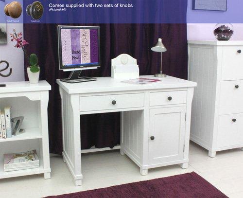 AGEN Single Ständer Computer Schreibtisch weiß Möbel