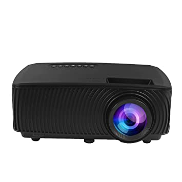 Haihuic Mini proyector portátil, proyector 1080P, Pantalla máxima ...