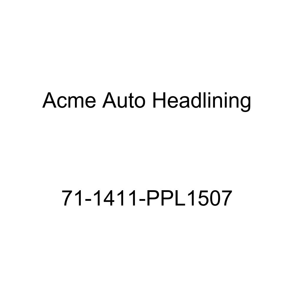 5 Bow Acme Auto Headlining 71-1411-PPL1507 Red Replacement Headliner 1971 Chevrolet Impala 2 Door Sport Hardtop