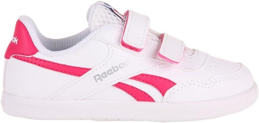 Reebok Royal Effect Alt - Zapatillas de Running para niñas, Color Blanco/Rosa: Amazon.es: Zapatos y complementos