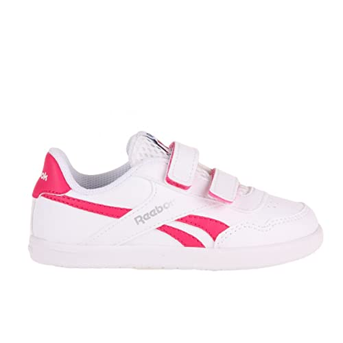 Reebok Royal Effect Alt - Zapatillas de running para niñas, color blanco/rosa: Amazon.es: Zapatos y complementos