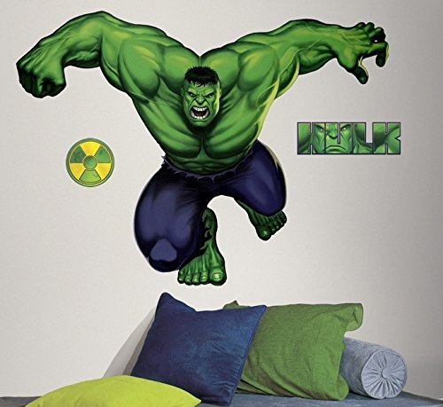 Marvel Heroes Comic - Avengers - The Incredible Hulk Giant Wall Decal by Marvel (Image #2)
