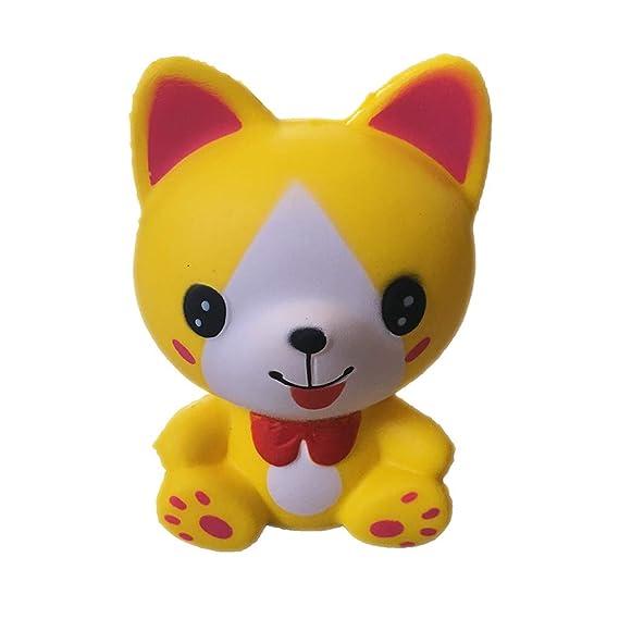 ❤ Tefamore Kawaii Doll, Adorable Gato Juquete de Animado Suave decoraciòn Lenta Levantar Exquisito Niño antiestrés: Amazon.es: Ropa y accesorios
