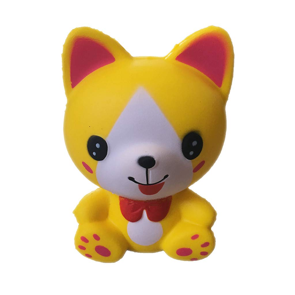 callm Squishies Style Slow Rising Squishy Toys Mini Adorable Kitten Scented Squishies Kids Party Squishy Stress Reliever Toy