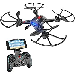 Holy Stone F181W Wifi FPV Drone with 720P Wide-Angle HD Camera, Gravity Sensor Function