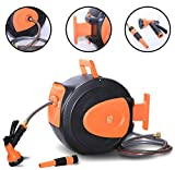 Best Hose Reels - Wellmax Retractable Water Hose Reel with Wall Mount Review