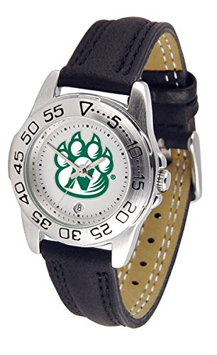 Northwest Missouri State Bearcats Ladies Sport Watch with Leather Band