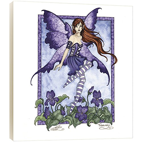 Tree-Free Greetings Violet Fairy EcoArt Wall Plaque