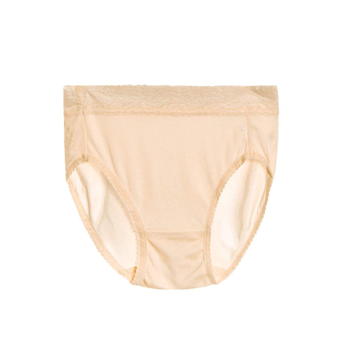 4 Pack S M L XL Womens 100/% Silk Knitted Bikinis Panties Underwear Briefs