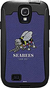 Skinit US Navy OtterBox Defender Galaxy S4 Skin - Seabees Can Do Design - Ultra Thin, Lightweight Vinyl Decal Protection from Skinit