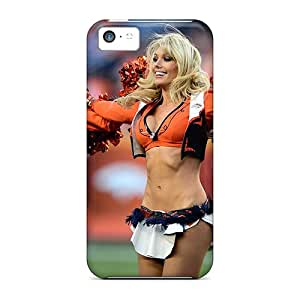 New Denver Broncos Cheerleaders Tpu Case Cover, Anti-scratch MQMshop Phone Case For Iphone 5c