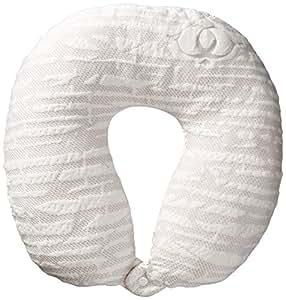 Clara Clark Hypoallergenic Memory Foam Travel Pillow, Large, White