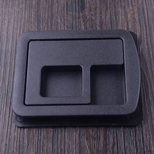 (Fincos DWCX Black Rear Trunk Liner Cargo Cover Handle Upper Bezel 8E5863627 Fit for Audi A3 A4 S4 A5 S5 A6 S6 A8 2013 2014 2015 2016)