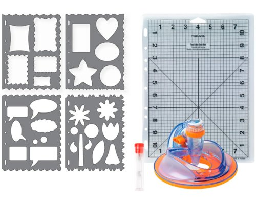 Fiskars Basic Shapes Ultra ShapeXpress Starter Set -