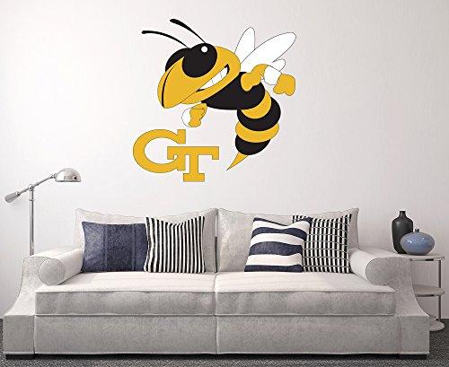 Yellow Jackets Team Logo Decal - 2