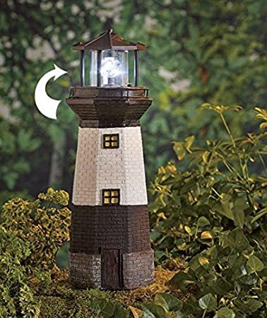 Amazoncom Solar Motion Lighthouse Patio Lawn Garden