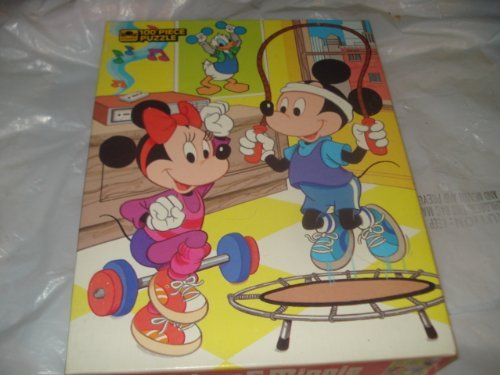 Mickey and Minnie 100 Piece Puzzle # 4649-42 Golden