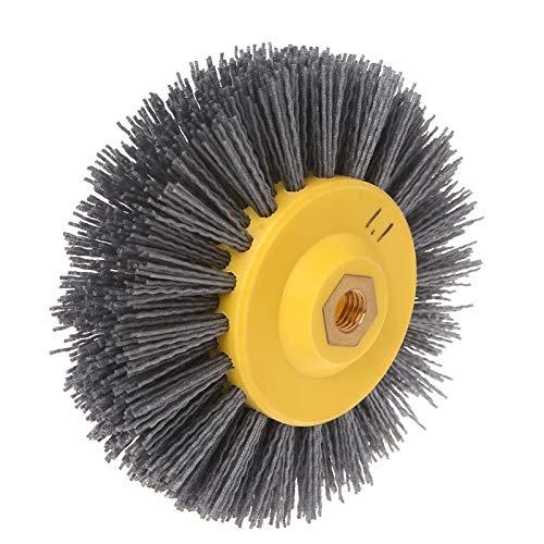 HeroStore Wire Drawing Wheel Brush Drum burnishing polishing Wheel Abrasive Wheel 15040mm M14