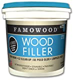 Famowood 40002148 Latex Wood Filler, White Pine, One gallon