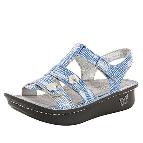Alegria Womens Kleo Gladiator Sandal Wrapture Blue aGec4xIkJ5