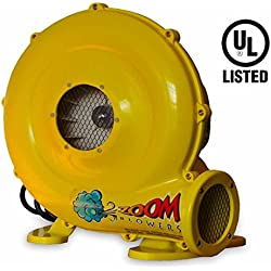 450-Watt, 0.6 HP Compact and Energy Efficient Zoom Commercial Air Blower for Small Inflatables and Bounce Houses
