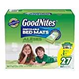 Health & Personal Care : Goodnites Disposable Bed Mats - 27 Pk.