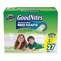 Goodnites Disposable Bed Mats - 27 Pk.